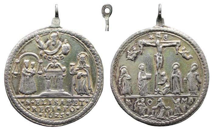 Puerta Santa / Crucifixión de Cristo S. XVII (R.M. SXVII-C33) - MR(200) LkbrA3