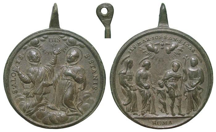 S. Luis Gonzaga y S. Estanislao de Kostka / Sagrada Parentela - MR510 (R.M. SXVIII-C118) 3eoJrZ