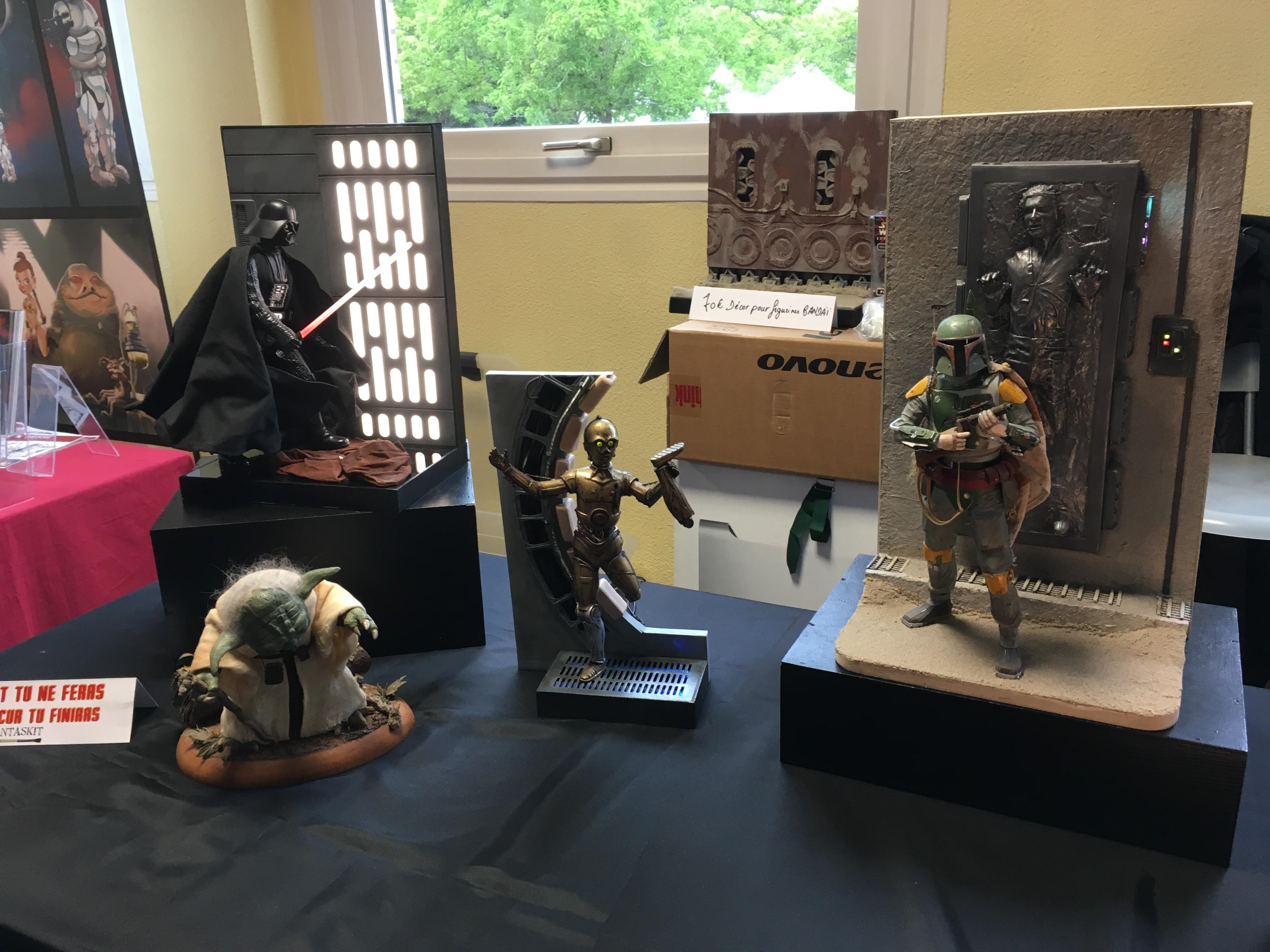 Générations Star Wars et SF 20ème édition - Cusset - 28 et 29 avril 2018 AMIgOE