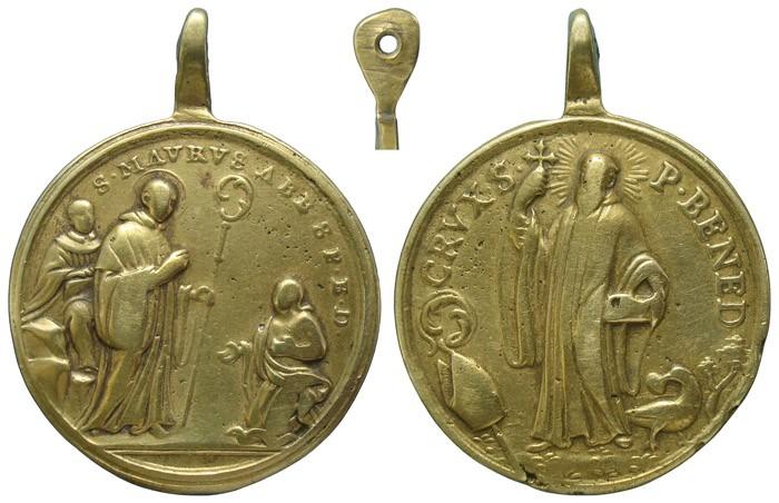 San Mauro de Glanfeuil / San Benito de Nursia - MR645 (R.M. SXVIII-C160) J0IZGx