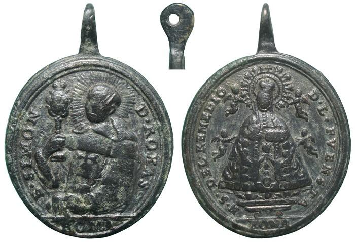 Beato Simón de Rojas / Virgen del Remedio de la Fuensanta - MR705 (R.M. SXVIII-O431) JOAuIW