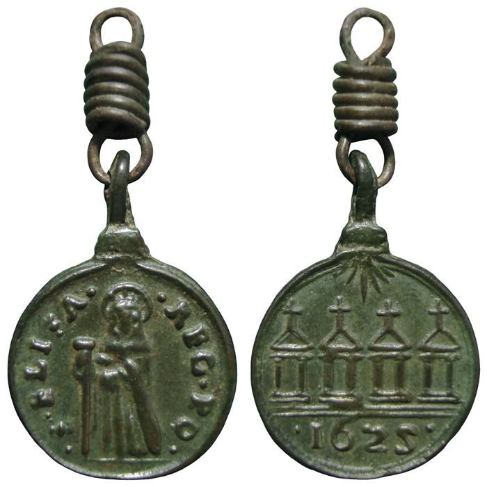Jubileo de 1625 / Santa Isabel de Portugal– MR685 (R.M. SXVII-C95) M7OSZj