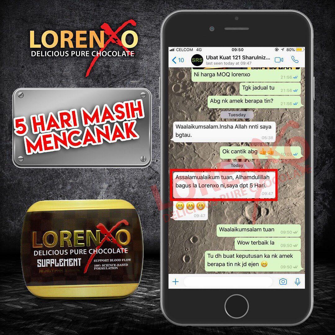 Lorenxo Cokelat Untuk keras dan tahan lama OACX10