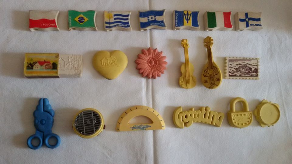 gommine mulino bianco vintage sorpresine anni 80 OL2cAR