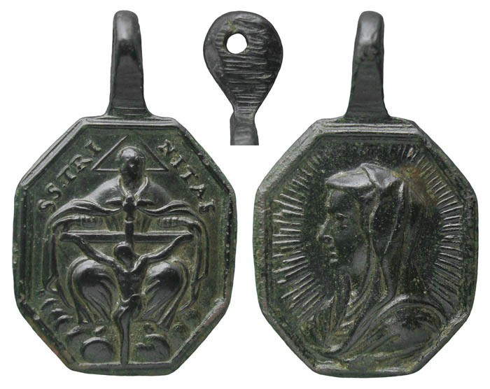 Santísima Trinidad Vertical/ Mater Salvatoris - MR(134) (R.M. SXVIII-P36) OaDt10