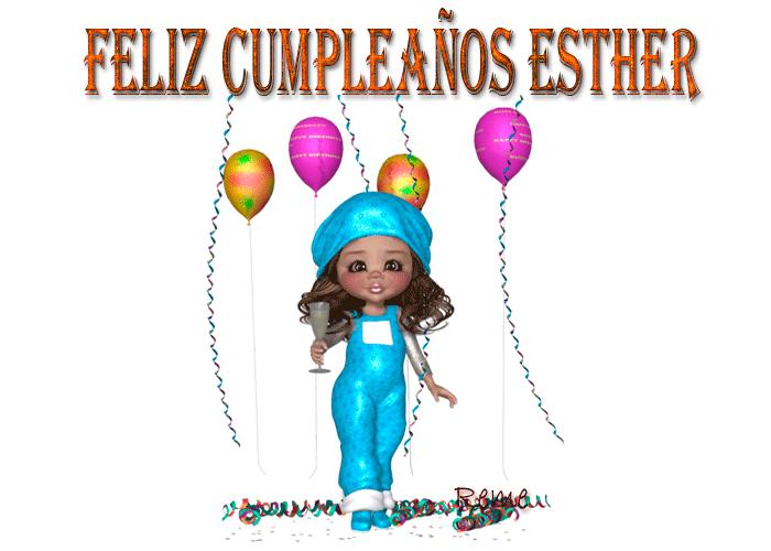 FELIZ CUMPLEAÑOS  ESTHER / 18 / DE ENERO/ E 2020 Sx7s9f