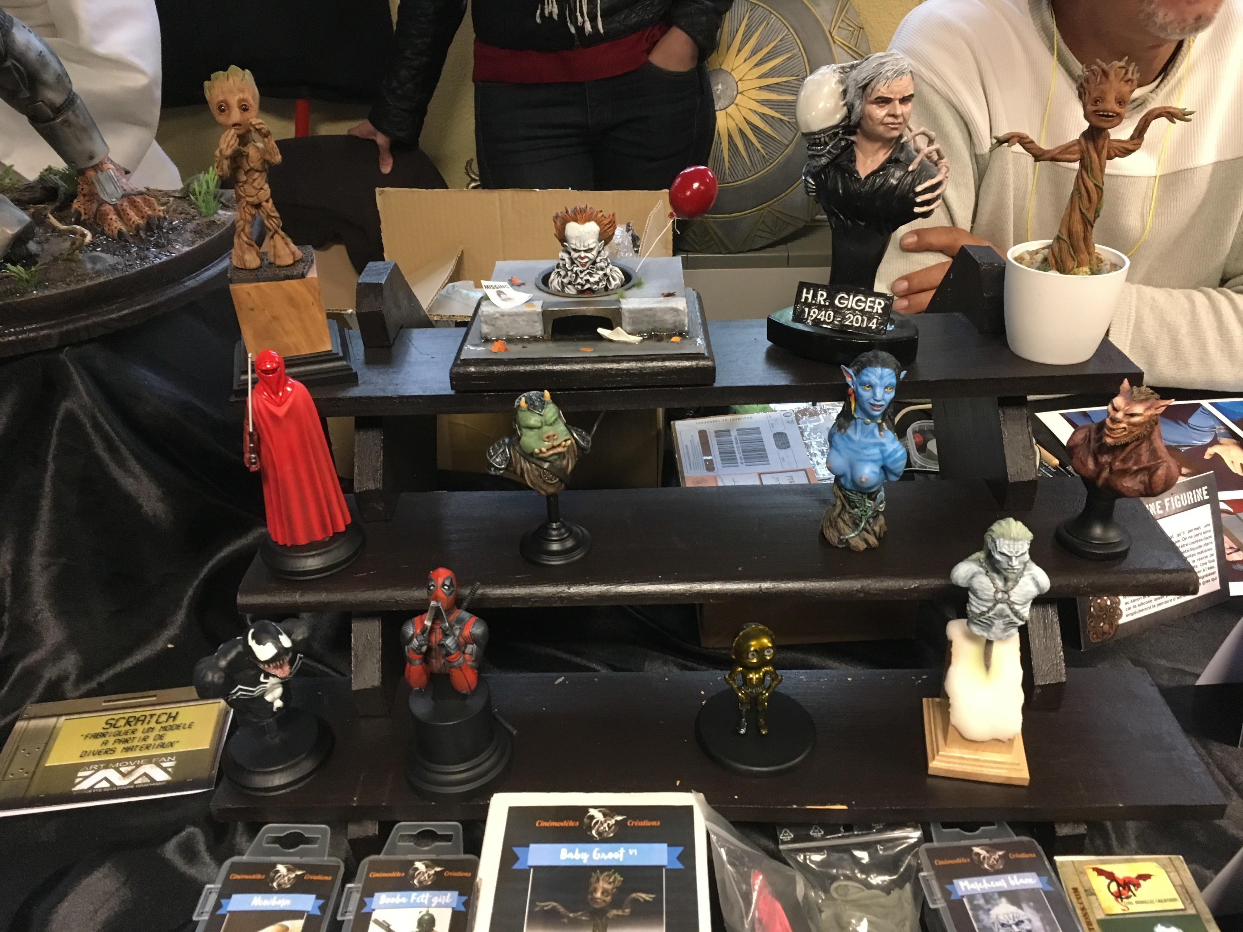 Générations Star Wars et SF 20ème édition - Cusset - 28 et 29 avril 2018 VtR0fH