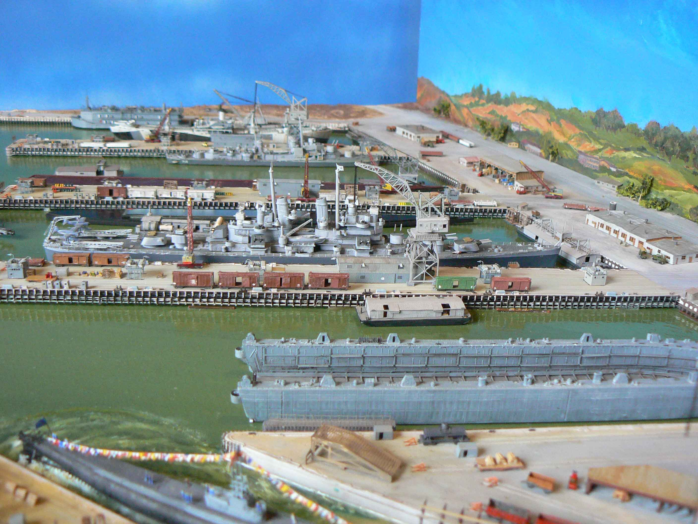 MARE ISLAND NAVAL SHIP YARD  1/700 WzTQkK