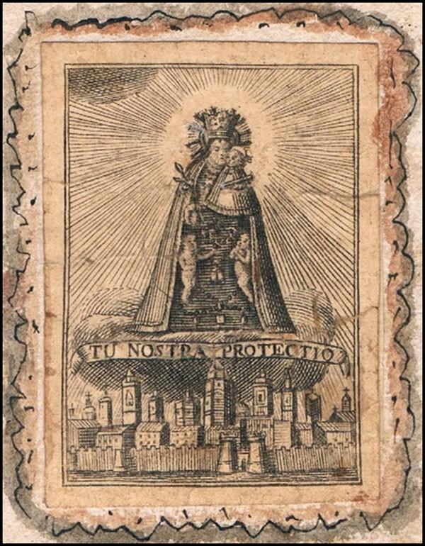 Santa Orosia  / Virgen de los Desamparados - MR681 EG56rW