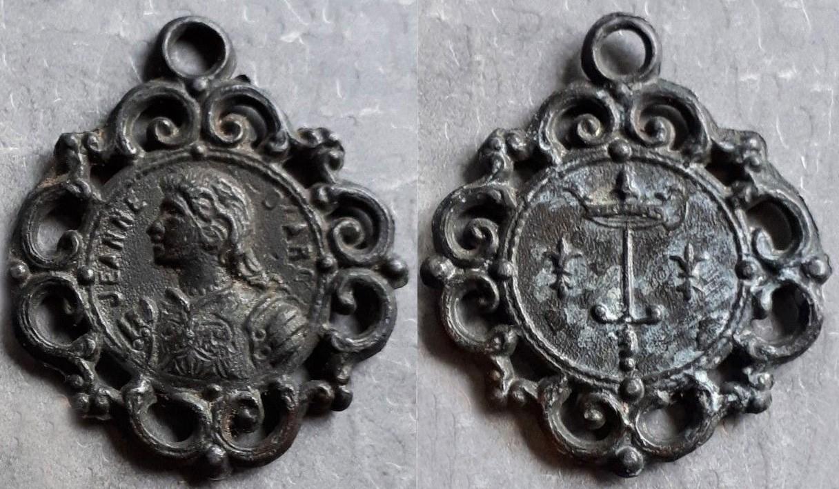Medaille Jeanne d´Arc ,période XIXe, siècle.  FZFMXc