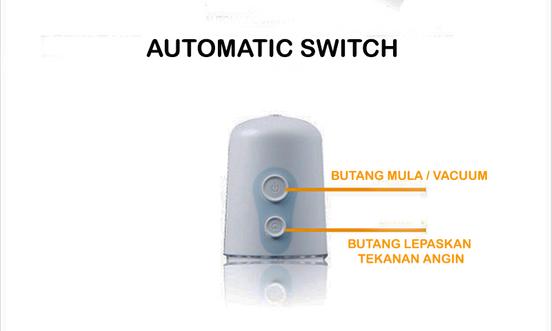 Mini Energy Power Pump | Pam Automatik Untuk Tambah Saiz Zak GSck64