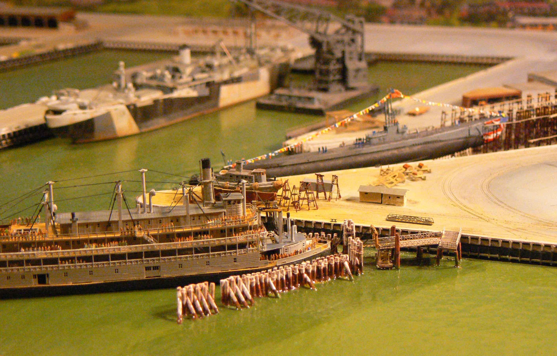 MARE ISLAND NAVAL SHIP YARD  1/700 MKSHFK