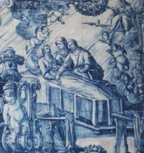Matrimonio de San José y la Virgen María / Muerte de San José - MR616 (R.M. SXVII-O482) SF2mqx
