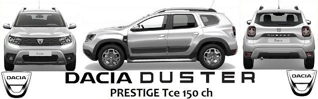 Duster Prestige Tce 150ch 4x2, options et accessoires Dacia TPvFFX