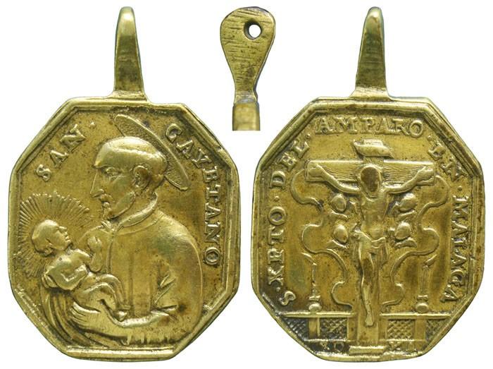 Cristo del Amparo de Málaga / San Cayetano de Tiene (R.M. SXVIII-P43) Y50Ewg