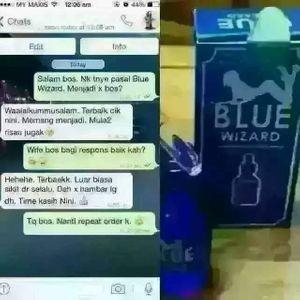 Blue Wizard Original Murah | Hanya RM80 Sahaja | WWW.BATINMA YHrCVQ