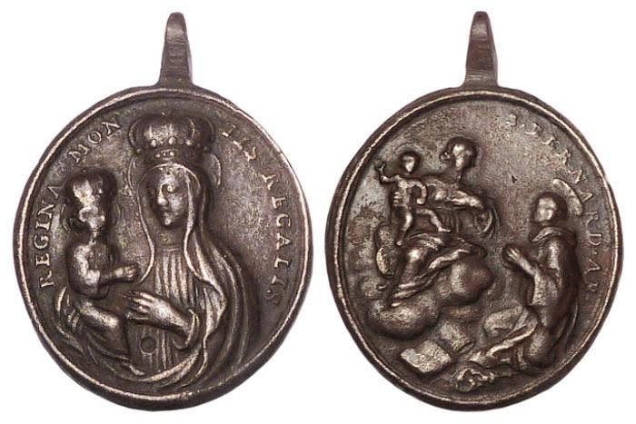 Madonna de Mondovi - San Bernardo de Claraval (R.M. SXVIII-O324)(MAM) 3YydHf