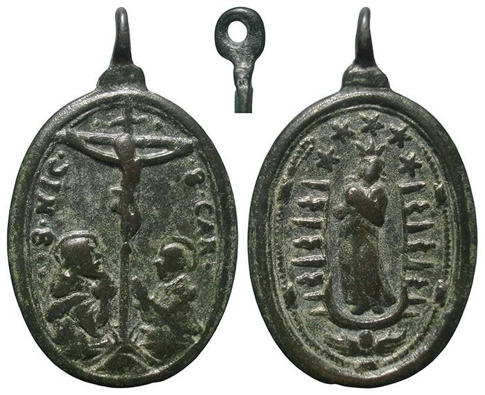 Jesucristo crucificado / Inmaculada Concepción - MR721 BsIIGi