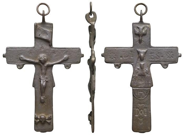 Crucifijo pectoral del Santuario de Liesse - CC103 FkFh6V