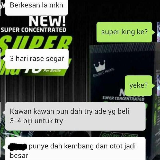 Super King Test Booster 60 Caps RM180 GxpBtC