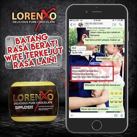 Lorenxo Cokelat Untuk keras dan tahan lama IPwtiC