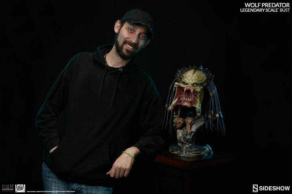 Alien vs Predator - Requiem : Wolf Predator Legendary Scale Bust MXn5Ss