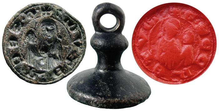 Sigillum medieval - OO038 QphQ6u