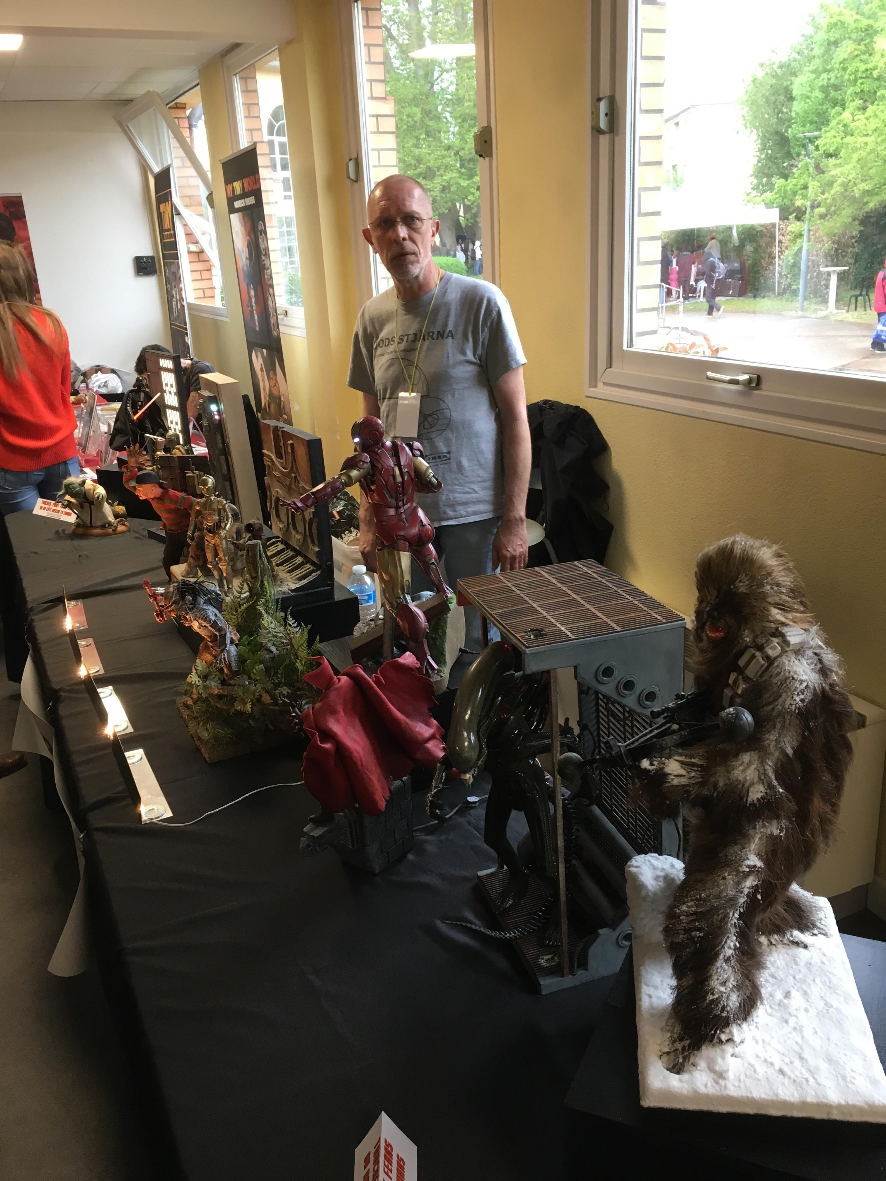 Générations Star Wars et SF 20ème édition - Cusset - 28 et 29 avril 2018 RO3ELe