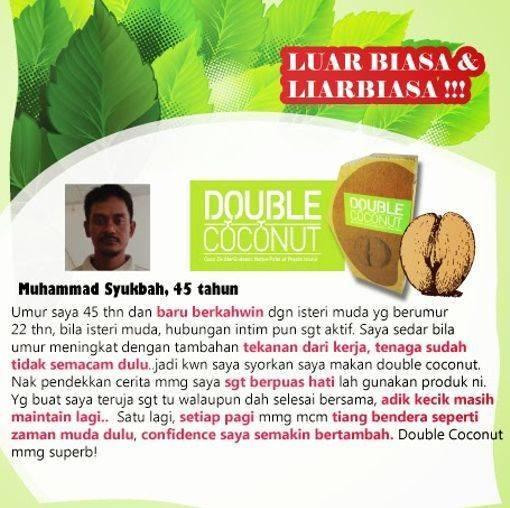 Double Coconut Original - WWW.BATINMALAYSIA.COM TqUQNf
