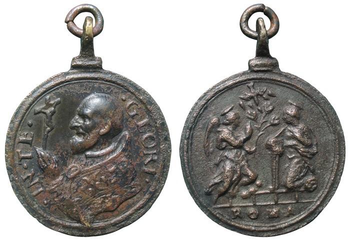 Papa Pio V / Anunciación - MR690 (R.M. SXVII-C95) VPIhpj