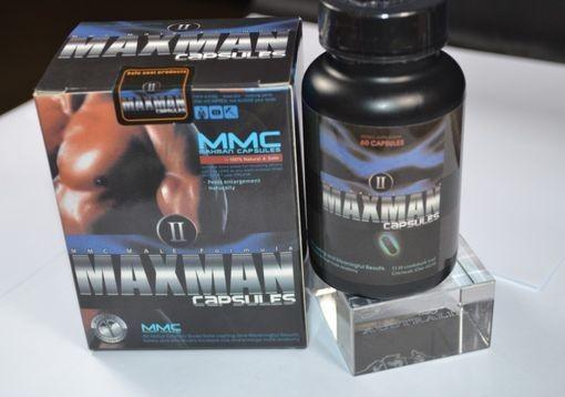MMC Maxman 2 Capsules For Male Enlargement Maxman CpBGYa