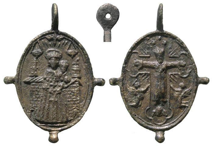 Virgen de Loreto / Cristo de Sirolo - MR522 (R.M. SXVII-O416) (Pe Loreto 42) INivk8