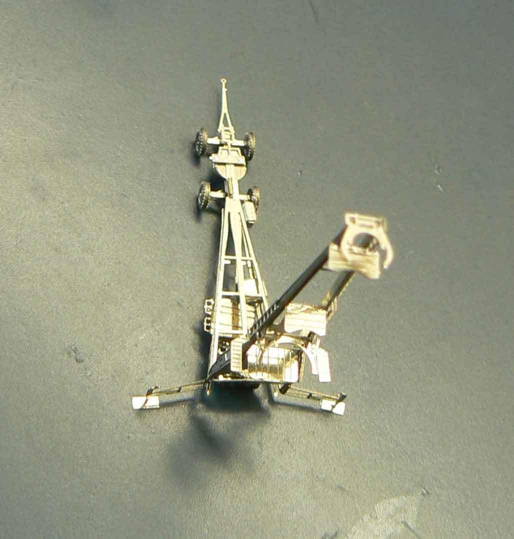 Fusée V2 - A4 au 1/350° M8CvOE