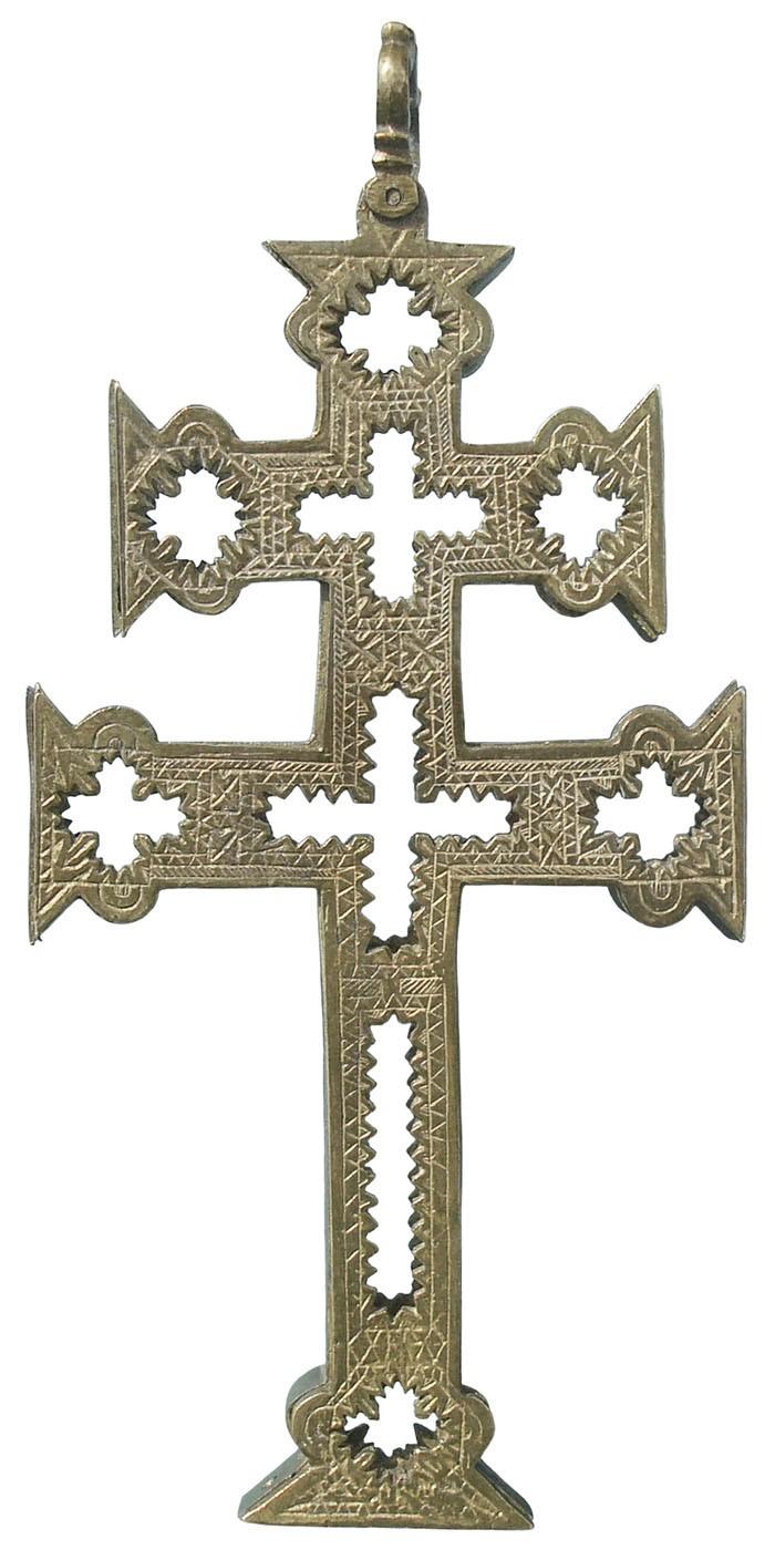 Cruz de Caravaca Relicario, S.XVII - CC106 MhoKdA