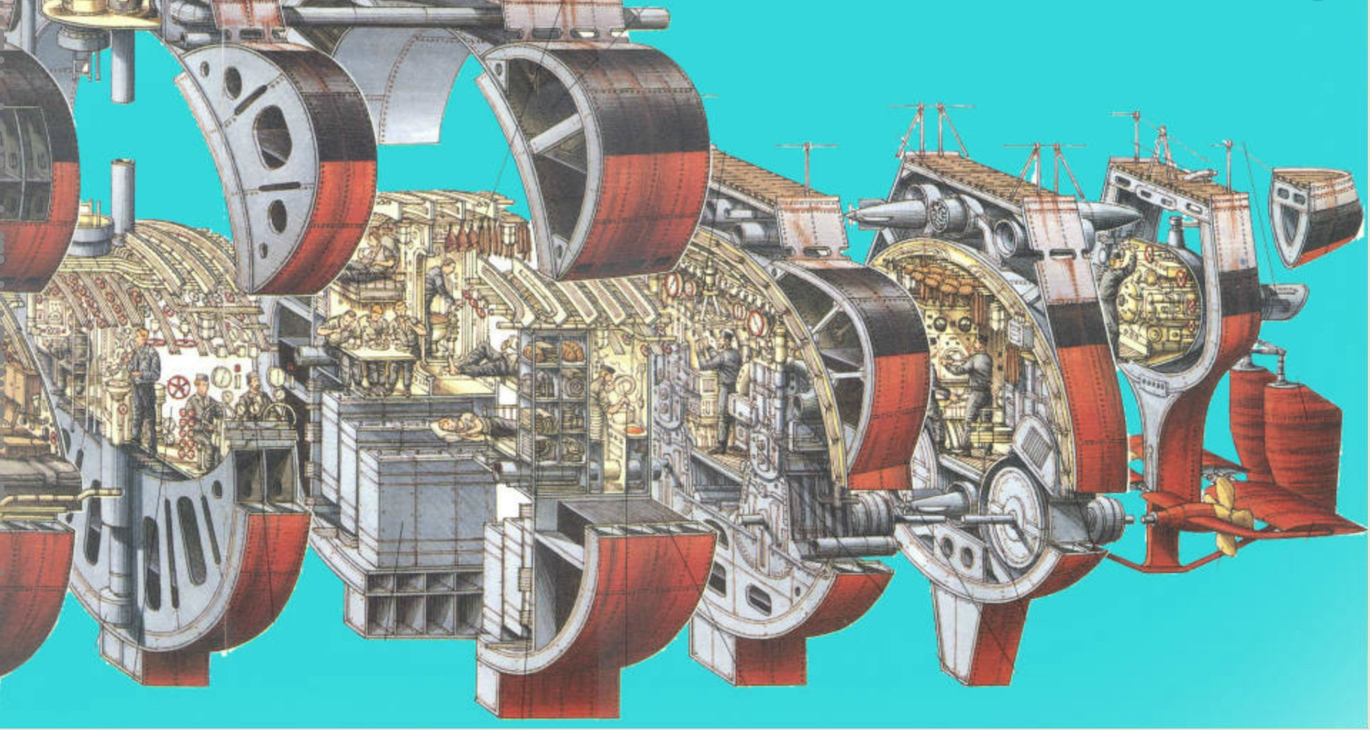 U-552 TRUMPETER Echelle 1/48 - Page 3 QCknVs