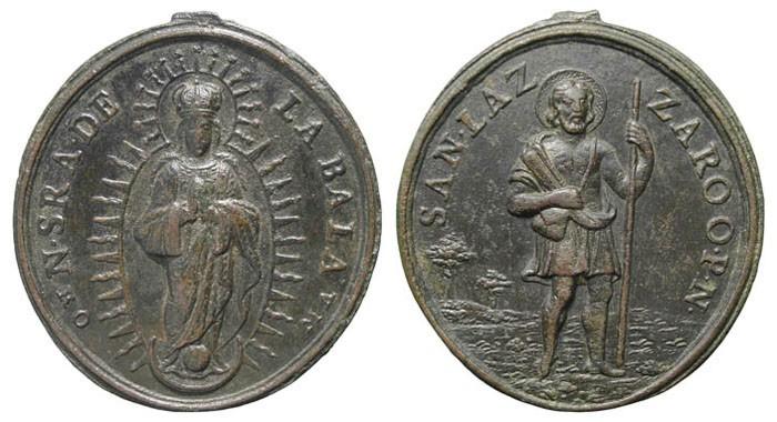 Virgen de la Bala / San Lázaro (R.M. SXVIII-O165) QL29YP