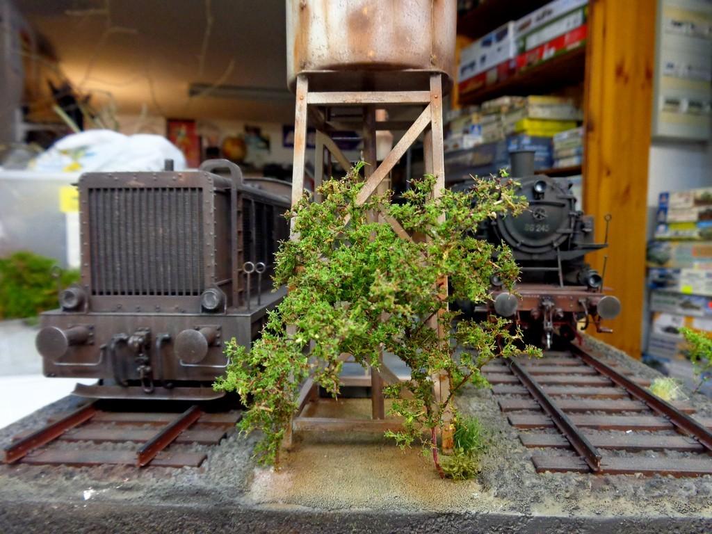 Diorama Ferroviaire avec  K5 Leopold au 1/35 petite MAJ 12/11/16 - Page 2 VXE9kV