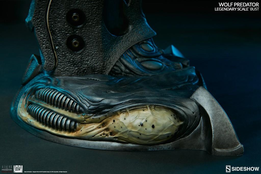 Alien vs Predator - Requiem : Wolf Predator Legendary Scale Bust WwlxAZ