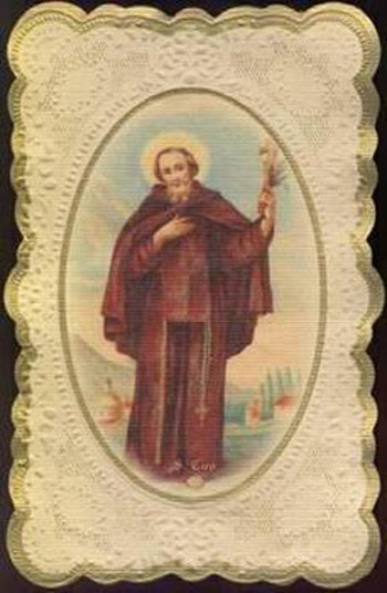 San Ciro mártir y Padre Francisco de Gerónimo - SS. Trinidad , S. XVIII (R.M. S.XVIII-O383) 0o7GXO