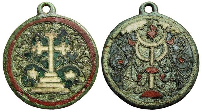 Medalla religiosa policromada ( en estudio) 14YqSN