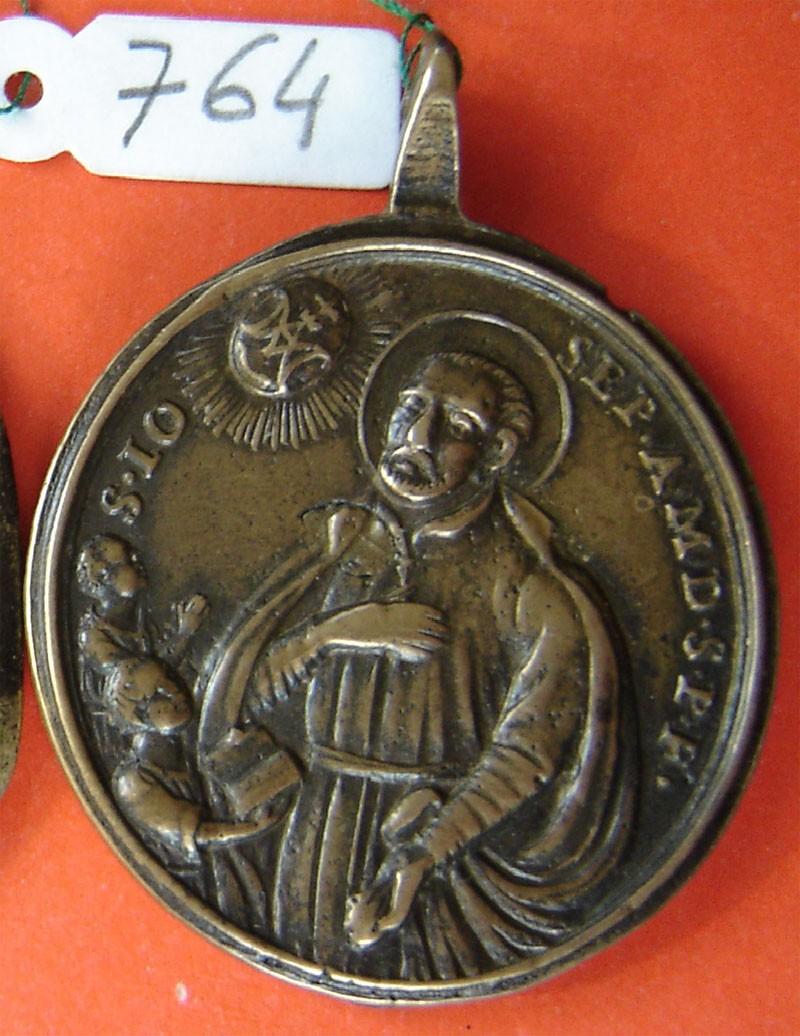 San José de Calasanz / Sagrada Familia con san Joaquín y Santa Anna, s. XVIII 1K9D19