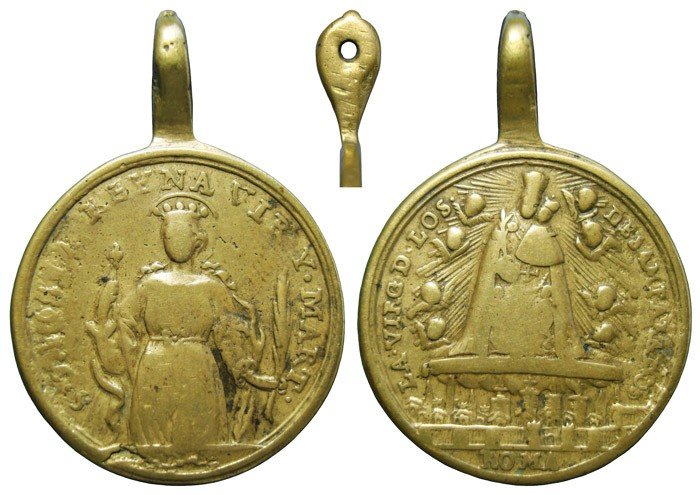 Santa Orosia  / Virgen de los Desamparados - MR681 1q58cx