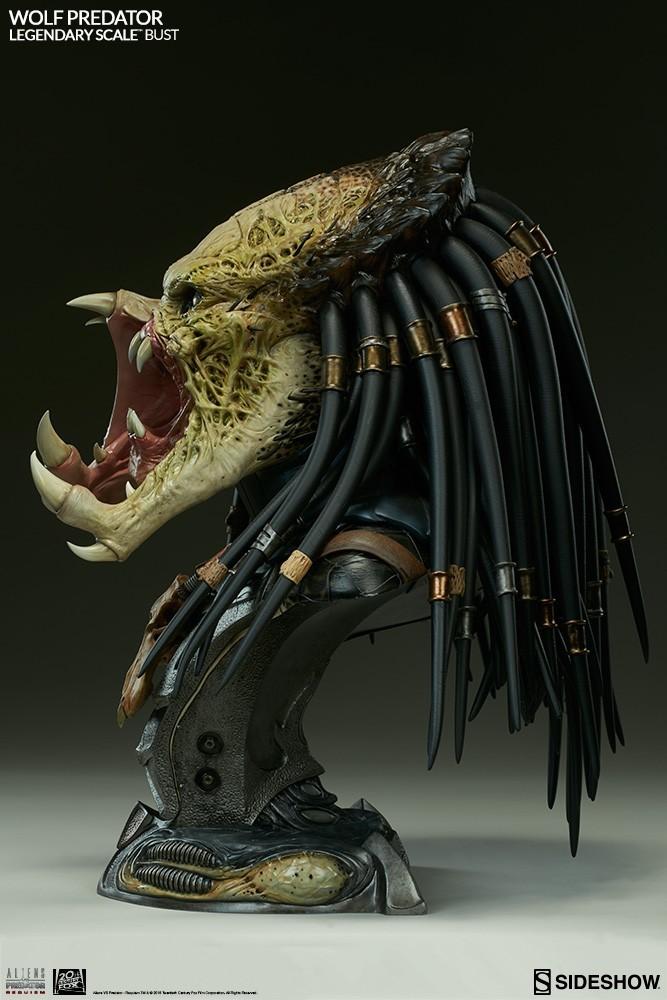 Alien vs Predator - Requiem : Wolf Predator Legendary Scale Bust 9E3tWC