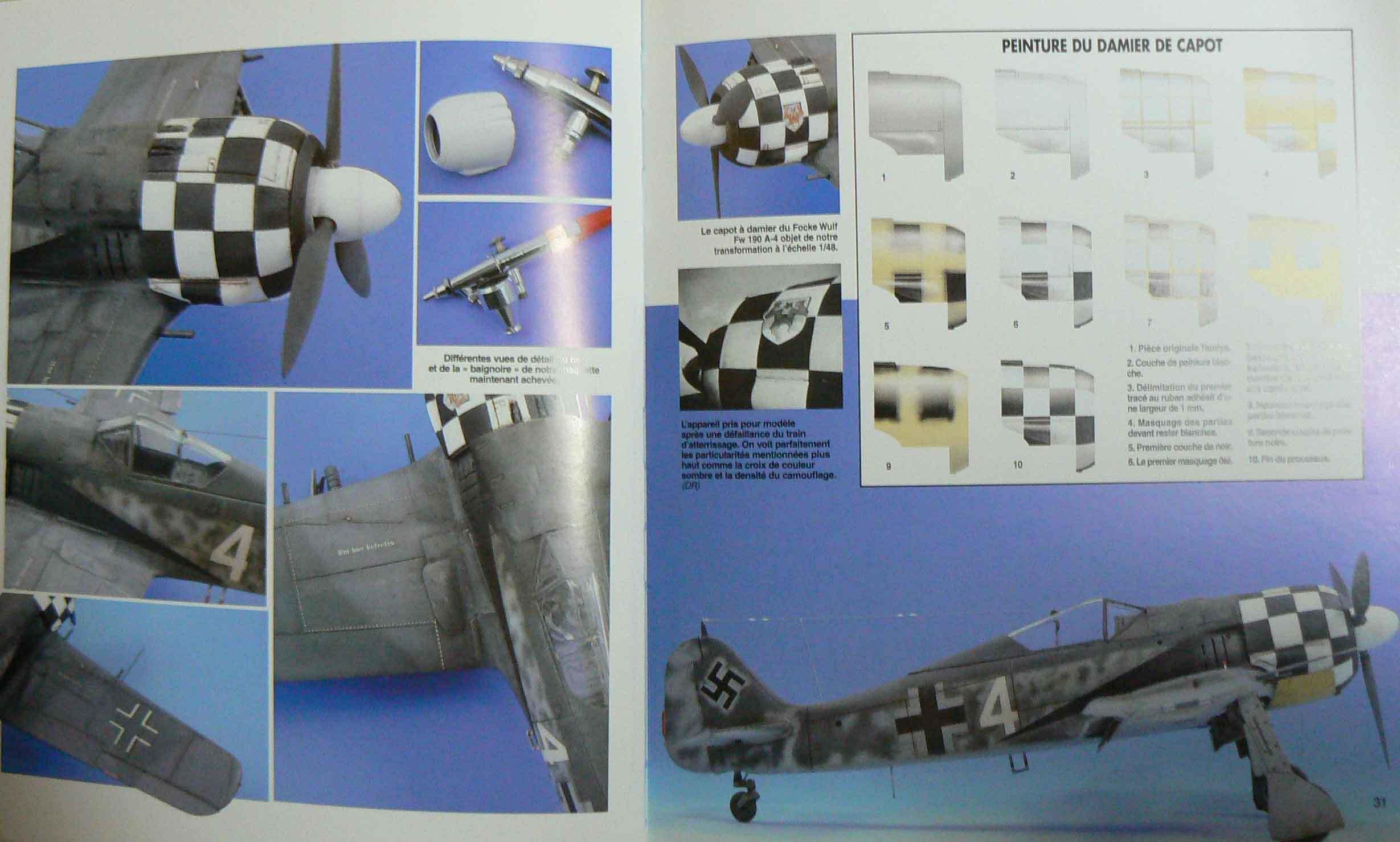 FW190 Eduard+PE&Brassin 1/72 AM9FcM