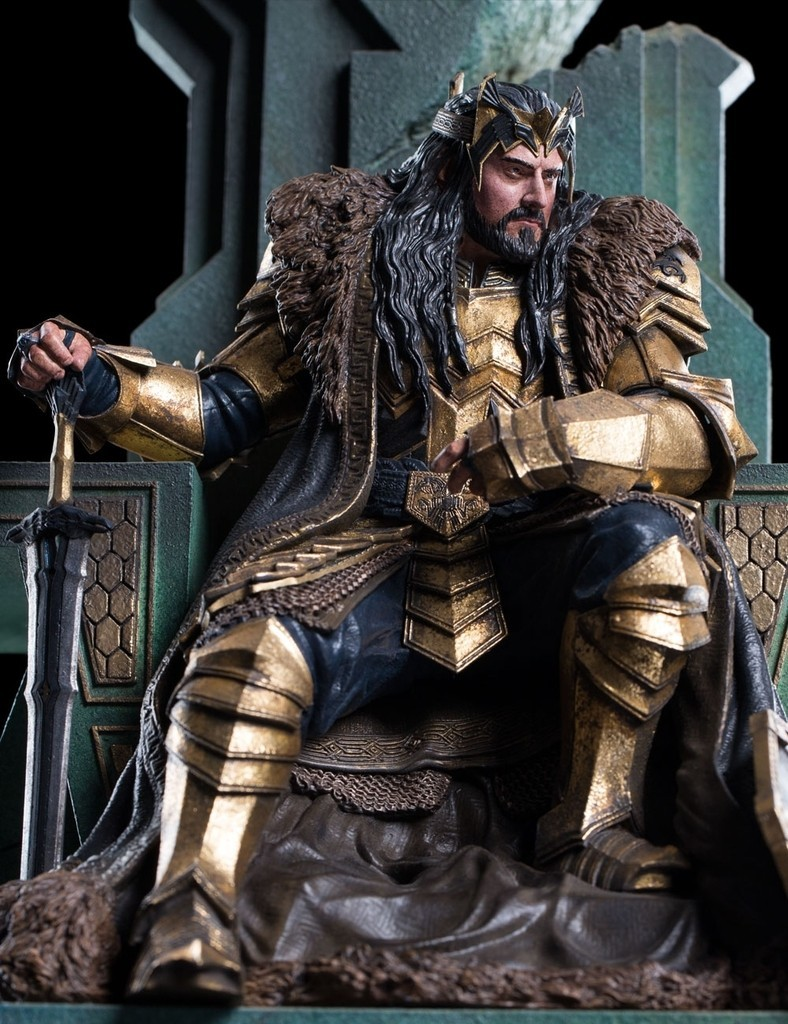 THE HOBBIT - KING THORIN ON THRONE D40CqR