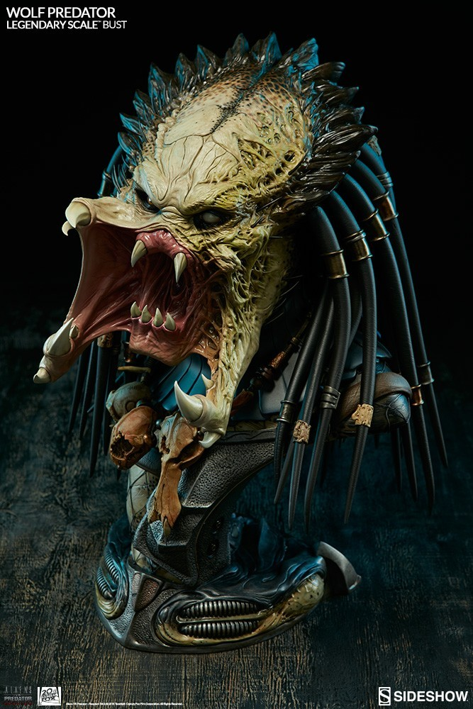 Alien vs Predator - Requiem : Wolf Predator Legendary Scale Bust H5xiJx