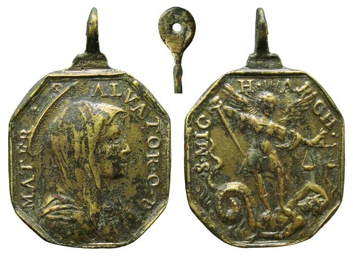 Mater Salvator/San Miguel Arcangel  (R.M. SXVII-P75) IwYux8