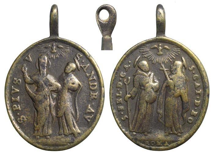 Cuatro Santos canonizados em 1712 - MR485 (R.M. SXVIII-O301) LfS9nF