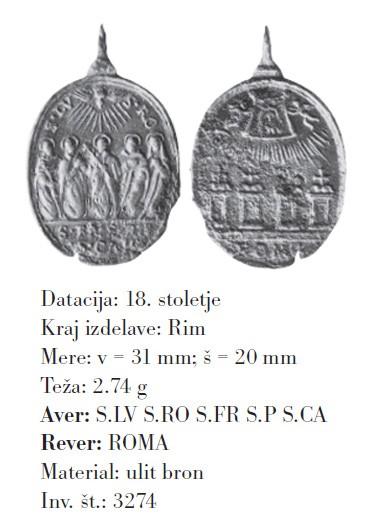 Cinco santos canonizados en 1671 / Escalera Santa y Basílicas romanas, S. XVII QSKZTp