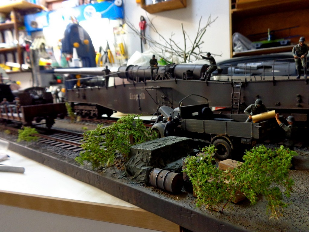 Diorama Ferroviaire avec  K5 Leopold au 1/35 petite MAJ 12/11/16 - Page 2 RCMUcV